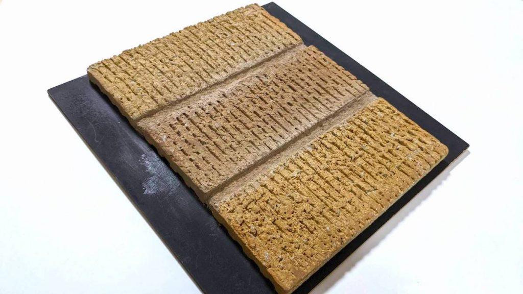 織部製陶のスクラッチタイル